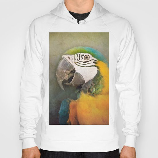 Portrait of a Parrot Hoody