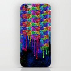 Splatter Box iPhone & iPod Skin