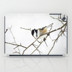 Snowy Chickadee iPad Case