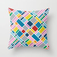 Map Outline 45  Throw Pillow