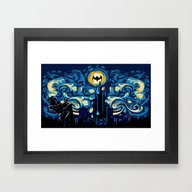 Starry Knight IPhone 4 4… Framed Art Print