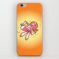 Space Velvet (lemon-mango) iPhone & iPod Skin