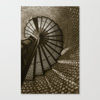 Blinded By The Light. Canvas Print