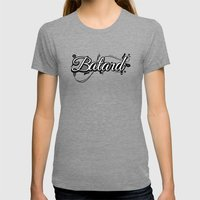 Batard Graphique Womens Fitted Tee Tri-Grey SMALL