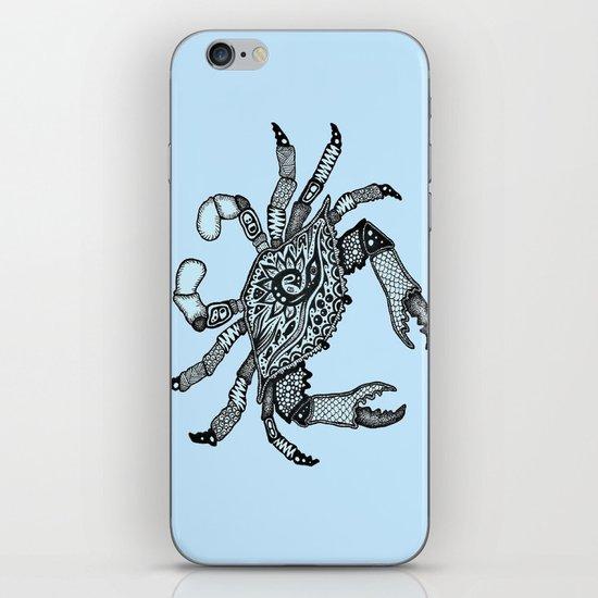 Crab Three iPhone & iPod Skin