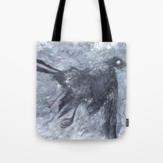 The Bearded Crow Tote Bag