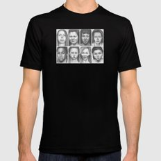 cry, don't cry Mens Fitted Tee Black SMALL