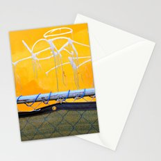 The other side of the fence Stationery Cards