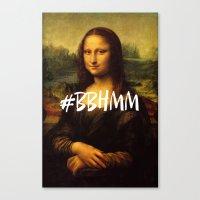 #BBHMM Canvas Print