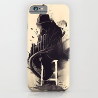 iPhone Cases featuring One World, One Mission by nicebleed