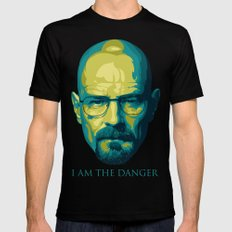 Breaking Bad Walter White Mens Fitted Tee Black SMALL