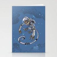 Astro Zodiac Force 09: Monkey Stationery Cards