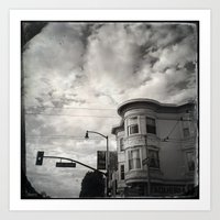 18th St San Francisco Art Print