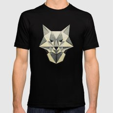 Wandering Wolf Black SMALL Mens Fitted Tee
