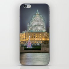 Christmas In The Distric… iPhone & iPod Skin