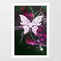 BEAUTY BUTTERFLY  Art Print