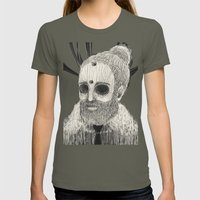 HOLLOWED MAN Womens Fitted Tee Lieutenant SMALL
