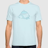Igloo Mens Fitted Tee Light Blue SMALL