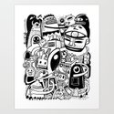 BIG - BW Art Print