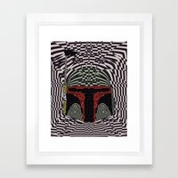 Boba Effect Framed Art Print