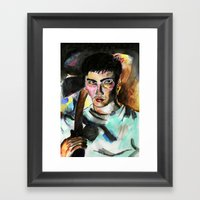 Donnie Darko Portrait Framed Art Print