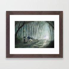 Final Fantasy VI - Phantom Line Framed Art Print