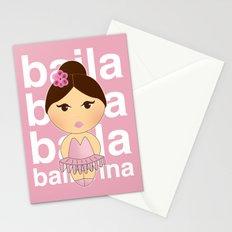 Baila bailarina Stationery Cards