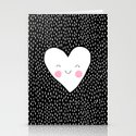 Happy Heart Stationery Cards