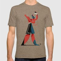 Cassius Play Mens Fitted Tee Tri-Coffee SMALL