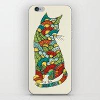 Cat lover iPhone & iPod Skin