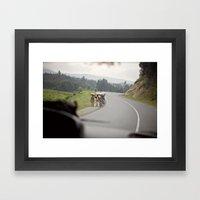 strength::rwanda Framed Art Print