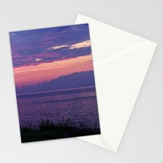 Purple Evening Clouds at Sea Stationery Cards