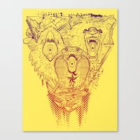 Open Wide! Canvas Print