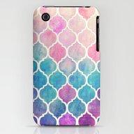 Rainbow Pastel Watercolo… iPhone (3g, 3gs) Slim Case