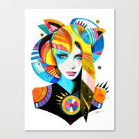 -Native Girl- Canvas Print