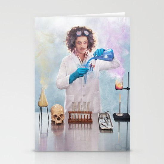 Mad Science Stationery Card