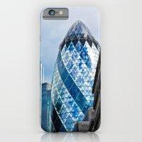 iPhone & iPod Case featuring The Gherkin London by David Pyatt
