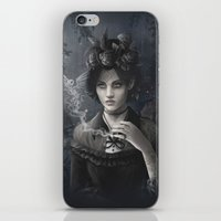 Oisillon (Victorian Lady) iPhone & iPod Skin