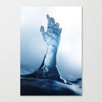 Come With The Rain Canvas Print