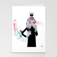 Ice Cream Queen Stationery Cards