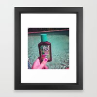 Sun Tan Framed Art Print