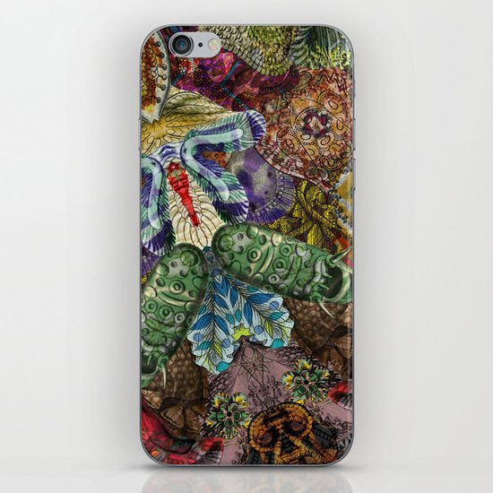 Psychedelic Botanical 5 iPhone & iPod Skin