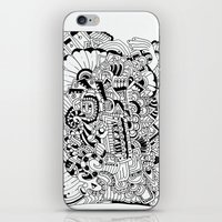 What Hides A Caress iPhone & iPod Skin