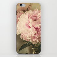 Painted Peonies -- Botanical Still Life iPhone & iPod Skin