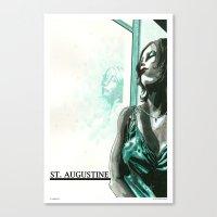St. Augustine 3 Canvas Print