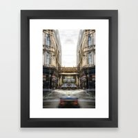 phantom ghoster Framed Art Print