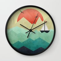 Ocean Adventure Wall Clock