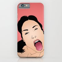 iPhone & iPod Case featuring Say aah by Sami Shah