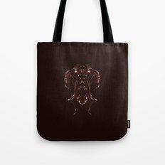 Woman Inside Tote Bag