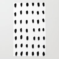 Jacques Pattern - Pure White Rug
